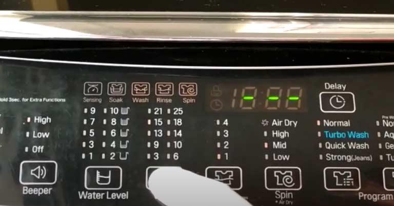 Washing Machine Wash Programs