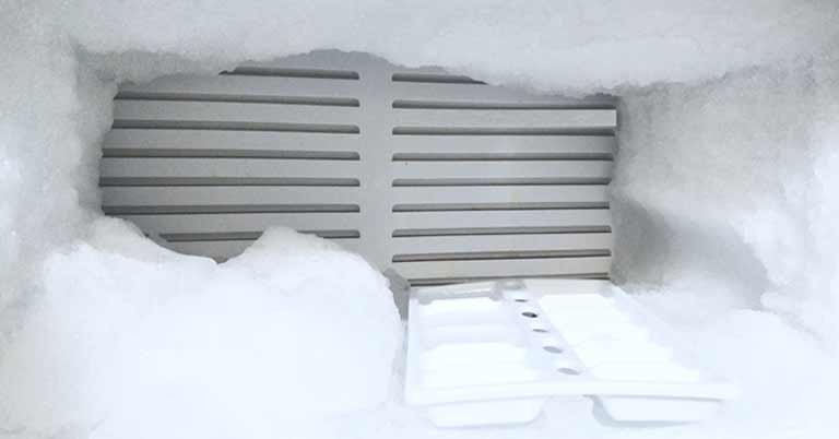 frost free refrigerator Image