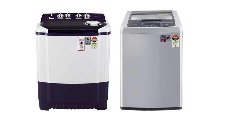 semi automatic washing machine vs fully automatic washing machine comparison