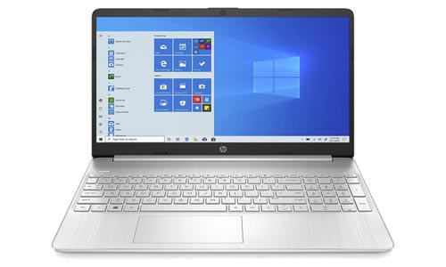 HP 15 With AMD Ryzen 3 Processor having 8GB RAM and 256GB SSD with Price under 50000 INR