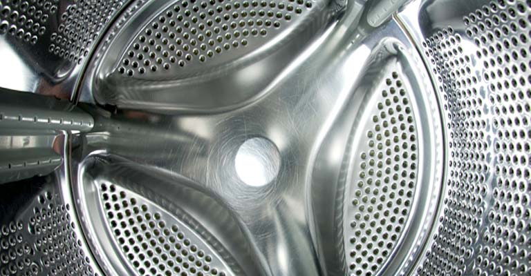 Front loading washing Machine Drum Inside